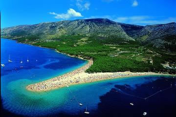Zlatni Rat beach in Bol on Brac Island