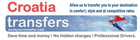 Croatia Airport Transfers