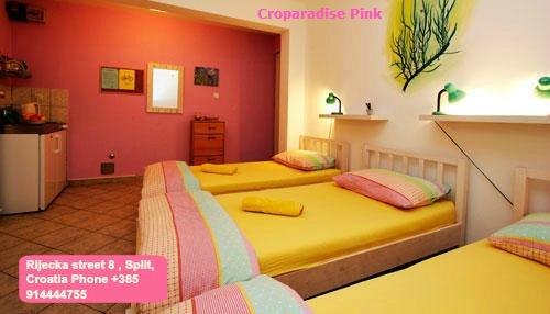 CroParadise Pink Hostel