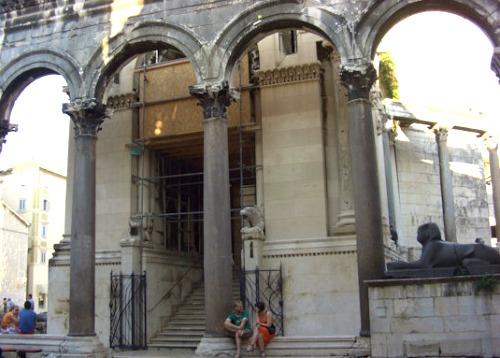 Diocletian mausoleum