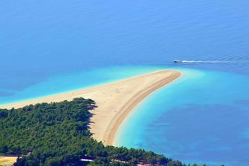 Golden Horn beach in Bol, Brac island