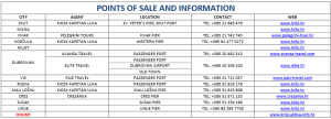 Krilo catamaran points of sale and information