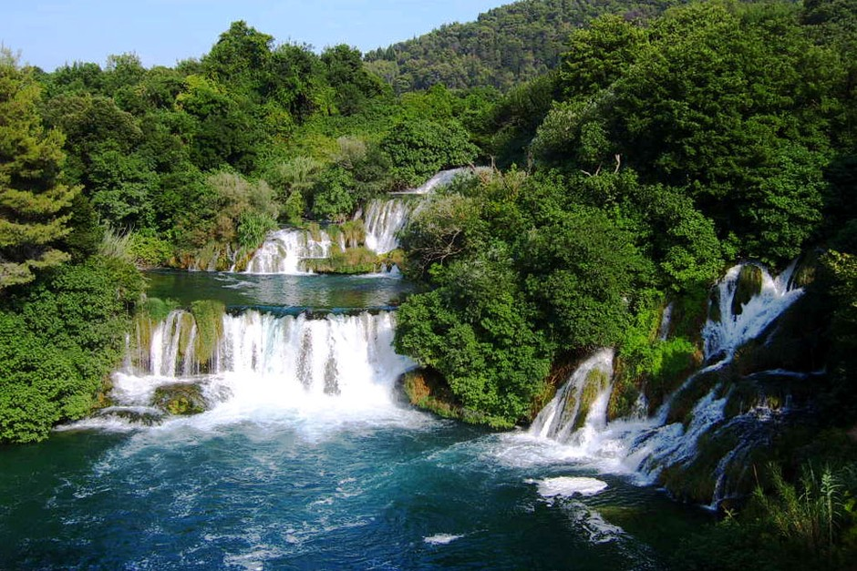 Split To Krka National Park Easy Day Tour Split Croatia