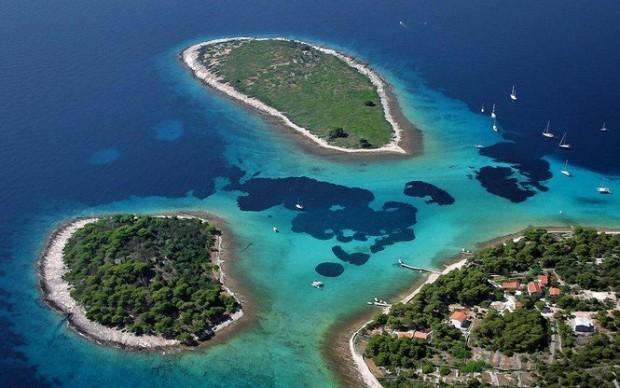 Krknjasi lagoon, Trogir Croatia