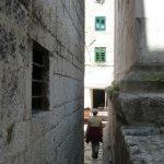 """Let me pass"" street, Split Croatia"
