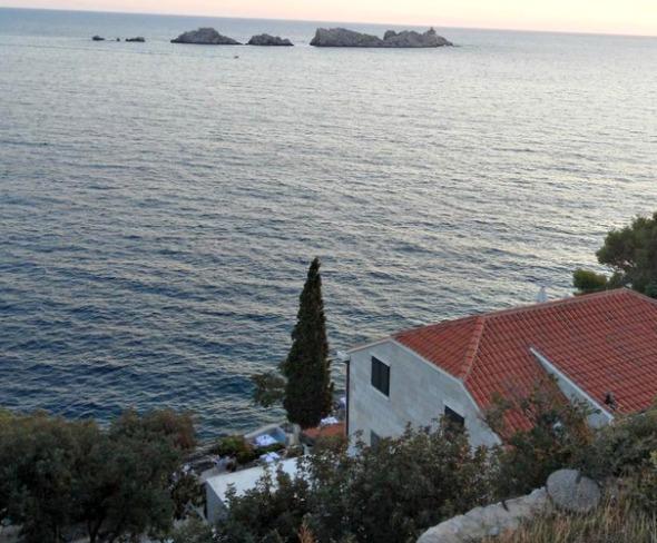 Levanat restaurant on Lapad Peninsula, Dubrovnik Croatia