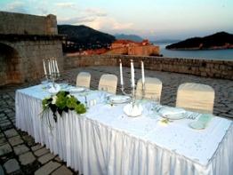Lovriejnac fortress terrace