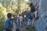 Marjan Hill rock climbing
