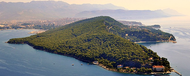 Marjan Hill forest, western part of Split peninsula