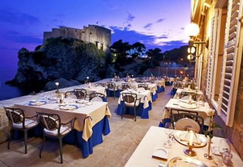 Best Romantic Restaurants In Dubrovnik Split Croatia