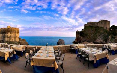 Nautika restaurant, Dubrovnik
