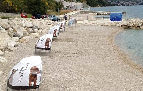 Duilovo pet friendly beach