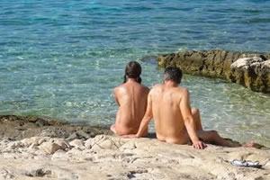 Nudist and naturist beaches
