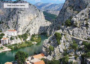 River Cetina in Omis
