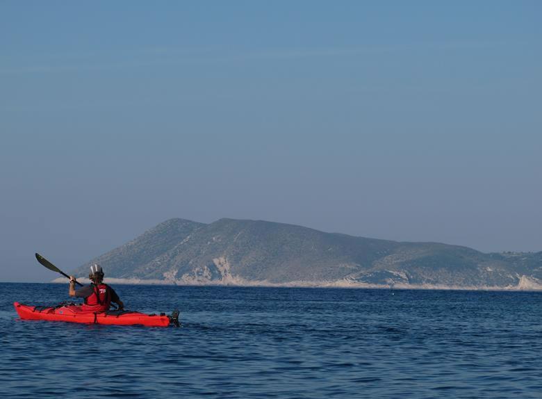 Paddling and sea kayaking around Marjan Hill