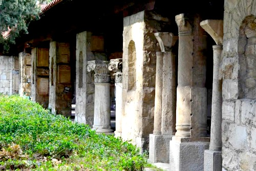 Split's Archeological Museum courtyard