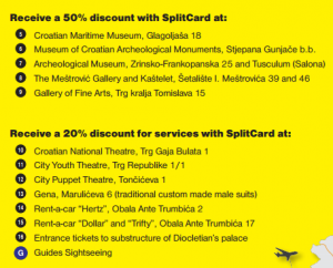 Split Card discounts