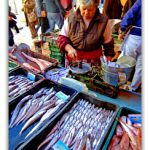 Fish market goods