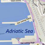 Split ferry port map