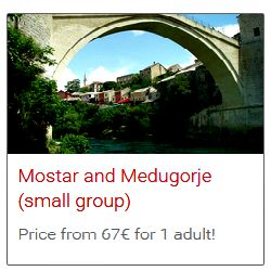Split to Mostar and Medjugorje bus tour