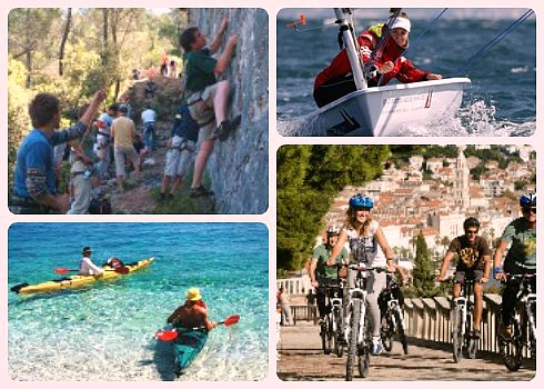Outdoor activities in Split