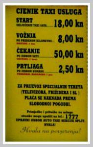 Taxi Split Prices