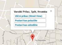 Split Varos District map