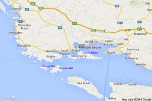 Trogir Riviera map