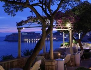 View from Villa Orsula restaurant in Dubrovnik