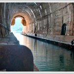 Old military tunnels on Vis island