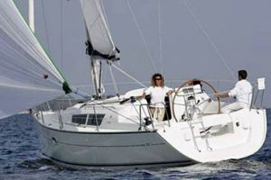 Sailing boats and yacht renting