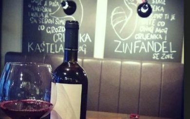 Zinfandel Food & Wine Bar, Split Croatia