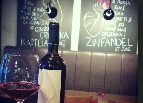 Split wine bars for real connoisseurs split croatia for Food wine bar zinfandel split