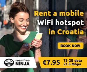 RoamFreeNinja - Mobile Wifi hotspot in Croatia