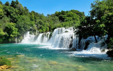 Krka National Park waterfall