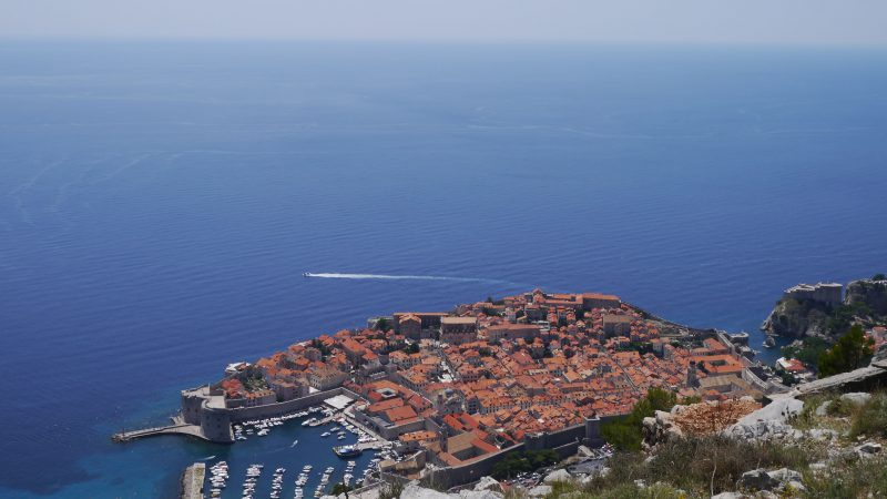 Dubrovnik View from Srđ mountain