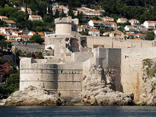 Fort Bokar and Minceta Tower, Dubrovnik Croatia