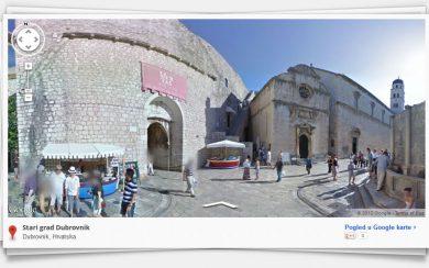 Google Street View - Old Town Dubrovnik