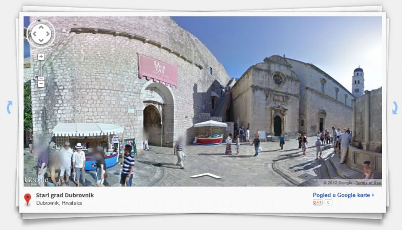 Google Street View - Old Town Dubrovnik