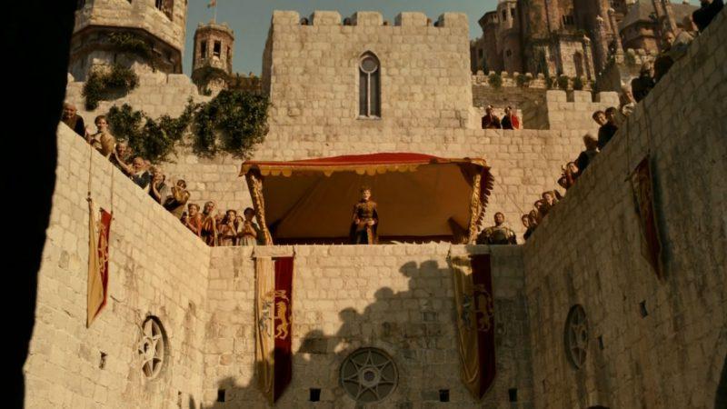 King Joffrey in Dubrovnik