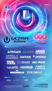Ultra 2018 Lineup