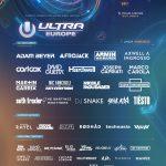 Ultra Europe 2017 lineup