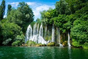 Roski waterfall in Krka National Park