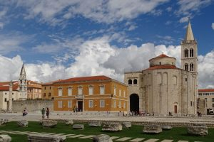 St. Donatus Church in Zadar Croatia