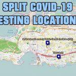 Split Croatia COVID-19 testing locations