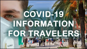 COVID-19 information for travelers